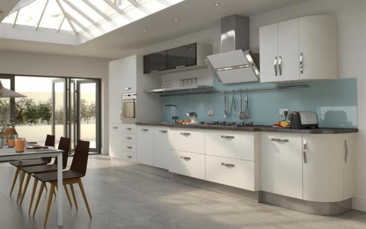 Wood Effect Kitchen Range  Arbury White Oak