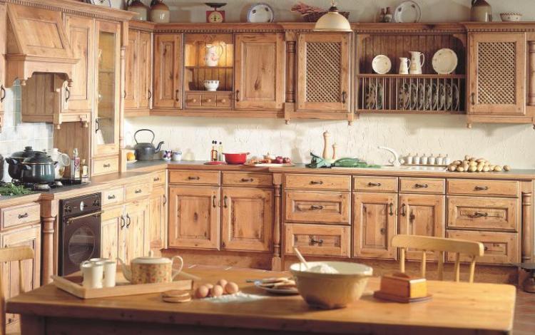 Timber Kitchen Range  CASA CHARACTER OAK