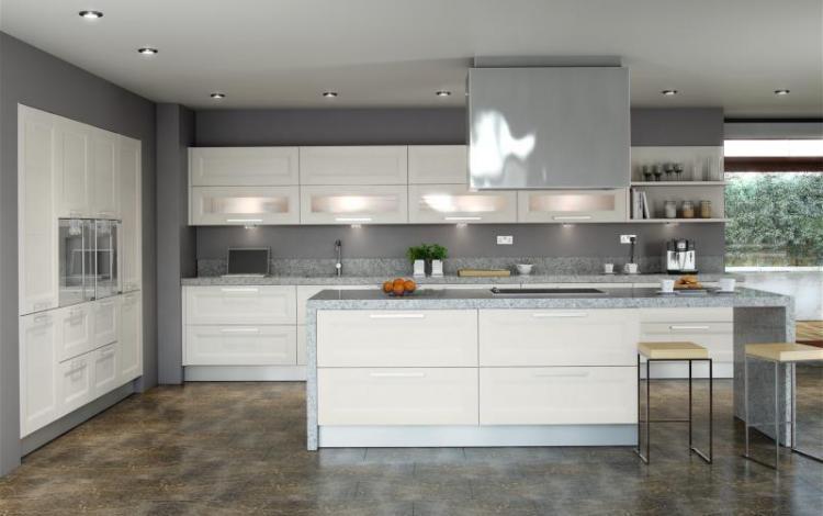Wood Effect Kitchen Range  Ellison Ivory