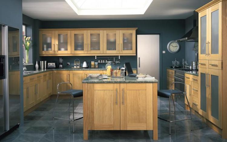 Timber Kitchen Range  Lansdowne Oak