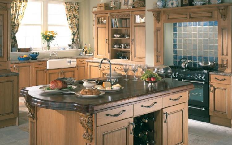 Timber Kitchen Range  MERRICK select