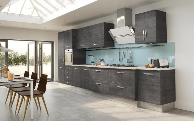 Wood Effect Kitchen Range  Arbury Grey Oak