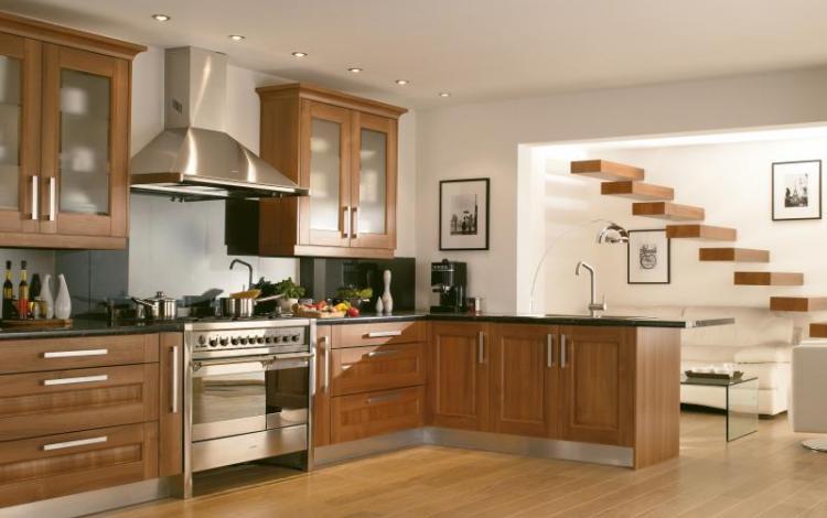 Wood Effect Kitchen Range  Darnbrook Walnut