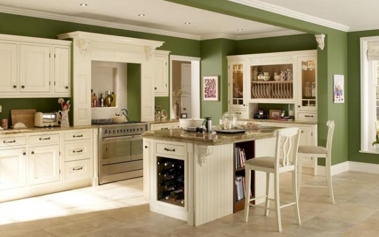 In-Frame Kitchen Range  Eildon Ash Painted