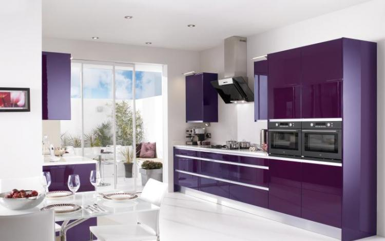 Gloss Kitchen Range  Haddington Integra Cassis