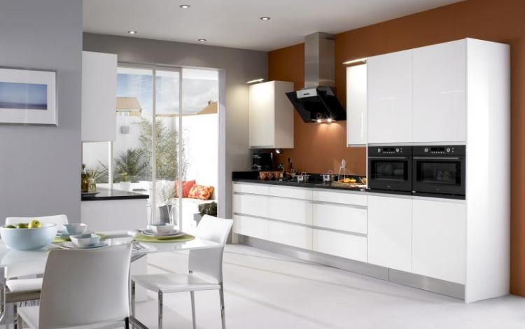 Gloss Kitchen Range  Haddington Integra White